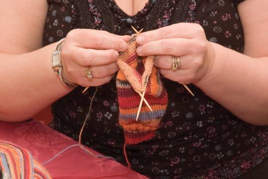 Westcliffe Knitting Holidays Social